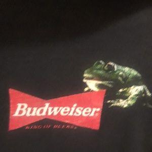 Vintage Shirts - Vintage 90s Budweiser Frogs Tshirt SZ XL